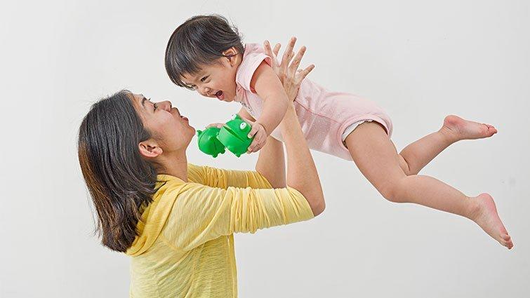孩子的成長是否落後同年齡孩子?