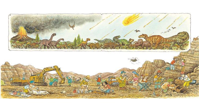 恐龍小知識|博物館裡的恐龍化石如何展示呢?7步驟超詳細圖解