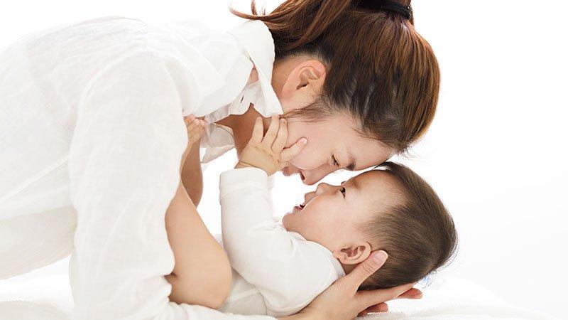 當孩子感覺到被愛與在乎:「媽媽,妳的眼睛裡面有我耶!」