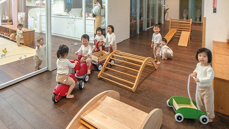 新竹縣道禾托嬰中心 師法自然,循二十四節氣安排嬰幼兒生活