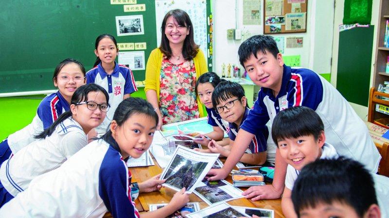 台北敦化國小|帶小學生讀國際新聞學習多元觀點