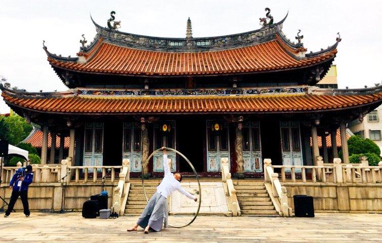 彰化孔廟前辦兒童走跳藝術祭:讓古城孩子看見無限可能