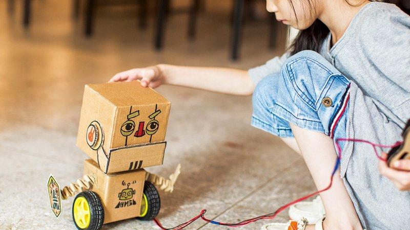 運用科學原理,自己的玩具自己做