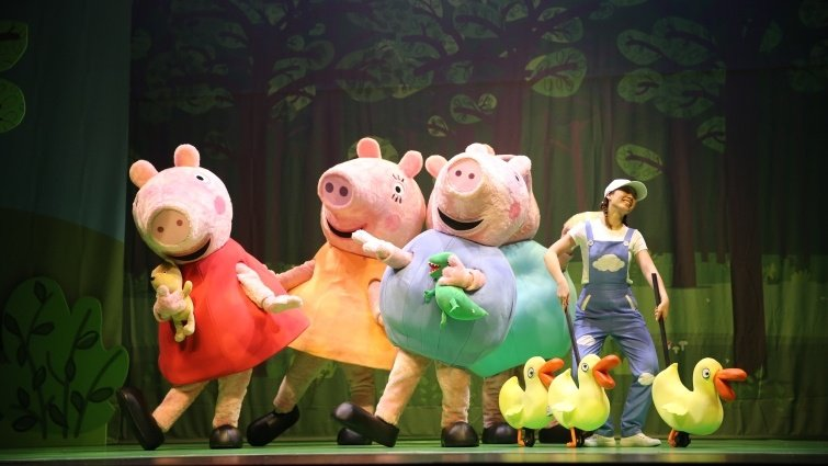 《粉紅豬小妹音樂劇 - 歡樂派對》兒童音樂劇6月首度登台(中獎名單於文末)