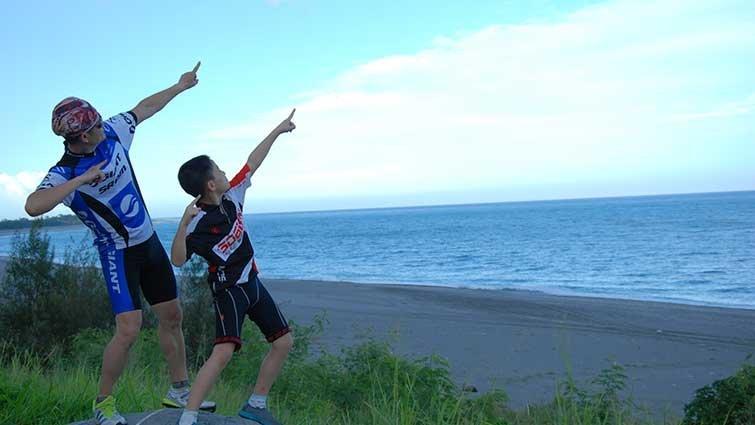 騎上單車 踏著風去環島
