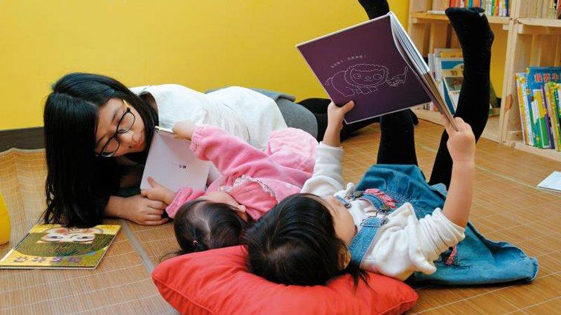 案例分享:小大讀書會繪本媽媽 不帶目的的共讀 讓好動娃變愛書娃