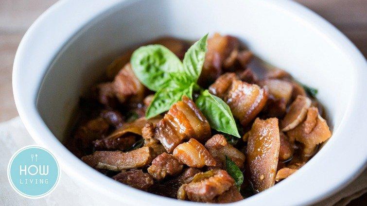 人妻必學的私房料理──台式焦糖三杯紅燒肉