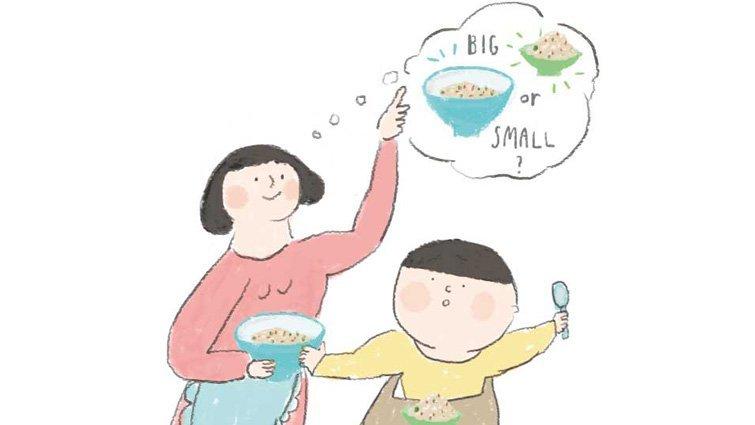 王嘉璐:不愛吃飯更要用大碗裝飯