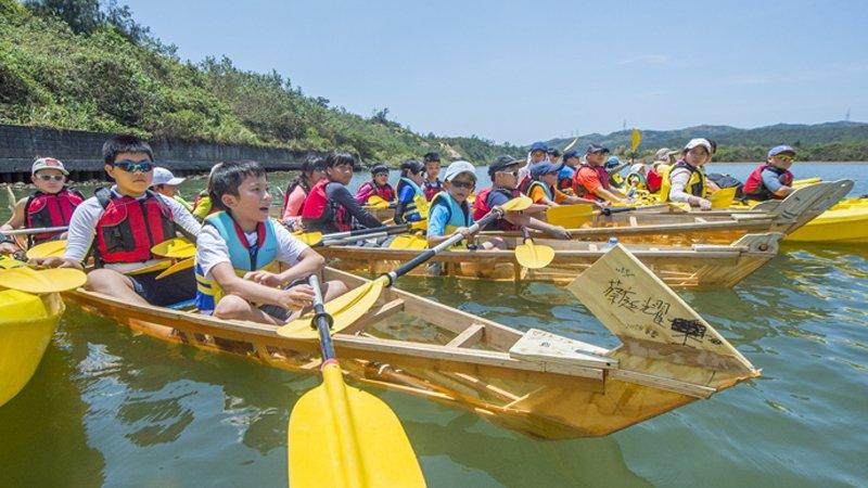 從思考到實作,獨木舟全能挑戰
