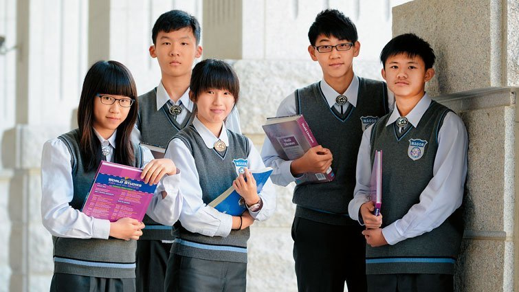 台中市葳格高中國中部:酒店大亨的教育夢