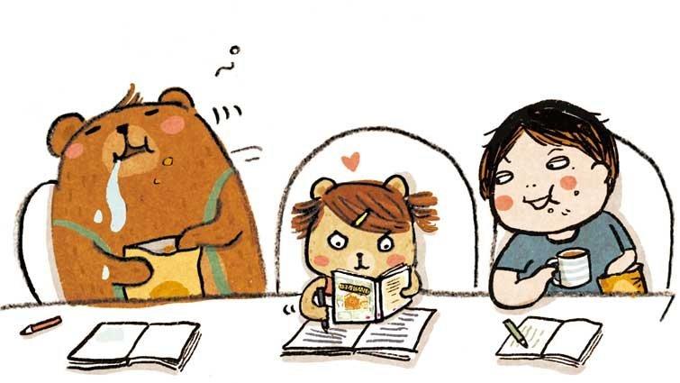 哲也:小熊兄妹的文字遊戲