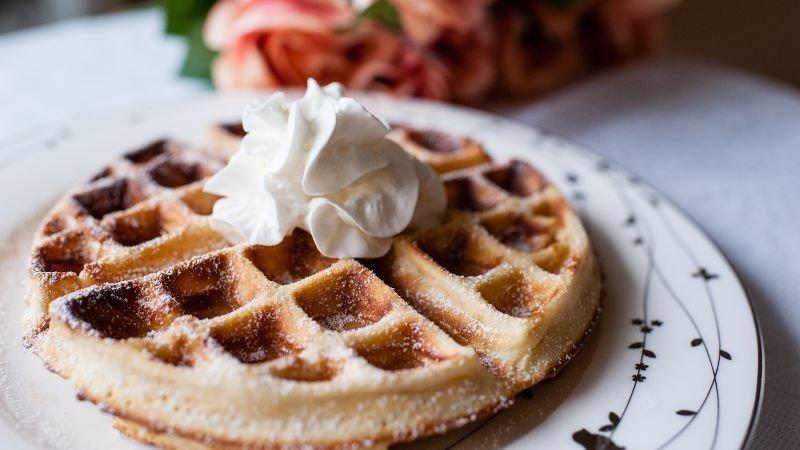 英國名廚的自製鬆餅粉──蜂蜜奶油格子鬆餅
