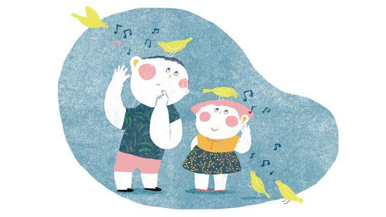 黃瑽寧:左耳聽音樂,右耳辨話語