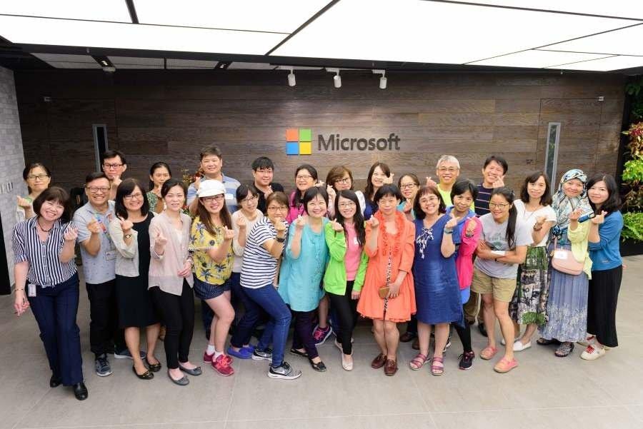 微軟以科技翻轉學習、活化教學,培養孩子未來的能力
