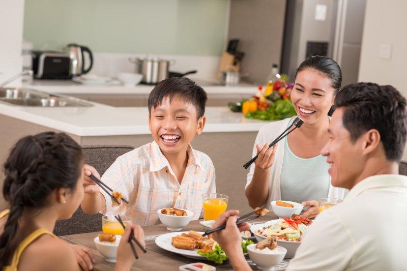 開學準備,從全家一起吃飯開始