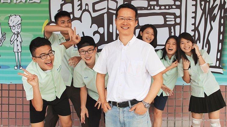 劉桂光:學生的心靈捕手