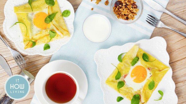 假日早午餐輕鬆煮~【法式鹹可麗餅】