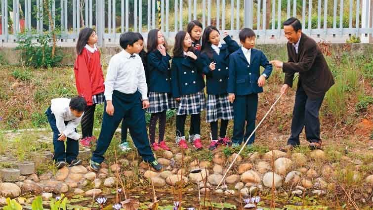 台中市麗澤中小學國中部:在都市綠洲裡啟發學習