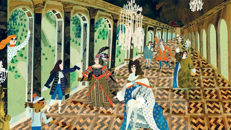 回到17世紀的法國,金碧輝煌的凡爾賽宮,可能跟你想的很不一樣