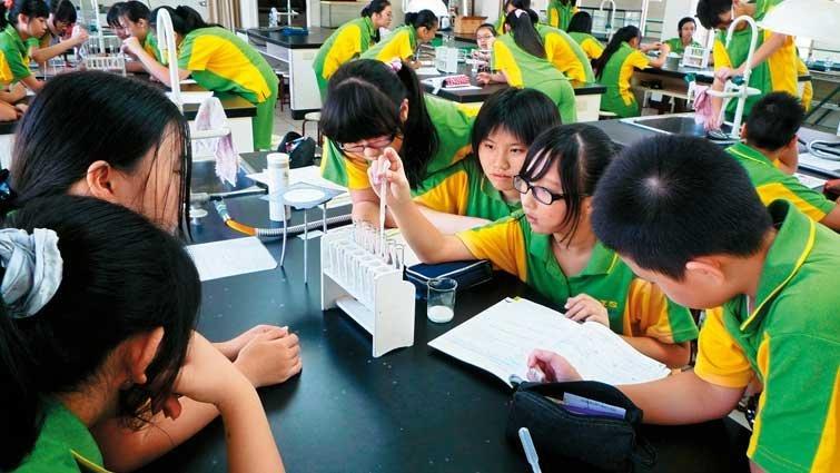 台北市靜修女中國中部:五育並重,挖掘不同天賦