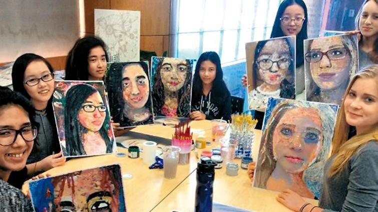 孩子和藝術家直接對話 讓作品充滿更多想像