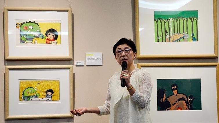 日本繪本演進史特展,國台圖展出知弘美術館珍貴典藏