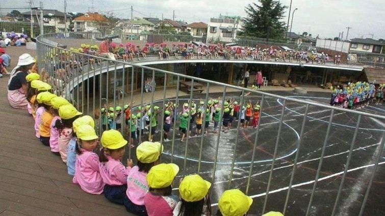 讓小孩每天不知不覺跑6公里的幼兒園