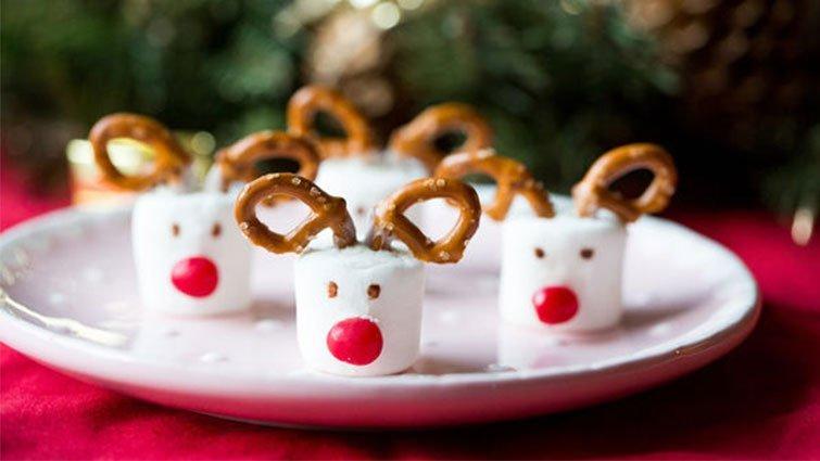 聖誕節親子手作甜點 - 麋鹿棉花糖X雪人棒棒糖