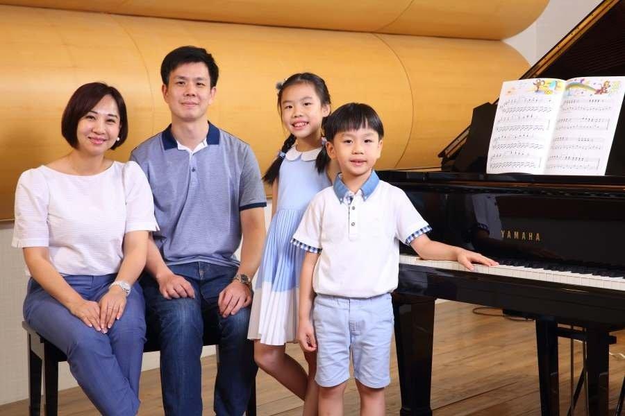 愛上音樂,從學齡前就開始 Yamaha音樂教室:愛的陪伴豐富孩子的學習與成長