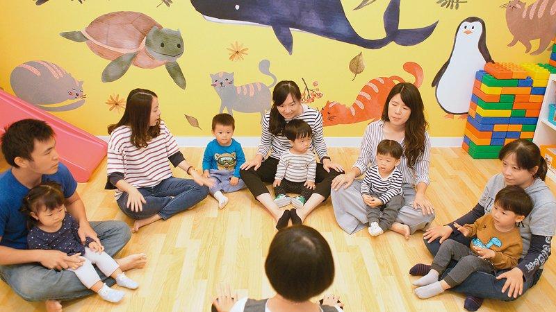 台南市夏綠蒂托嬰中心 多元的親子課程,邀家長成為教養夥伴