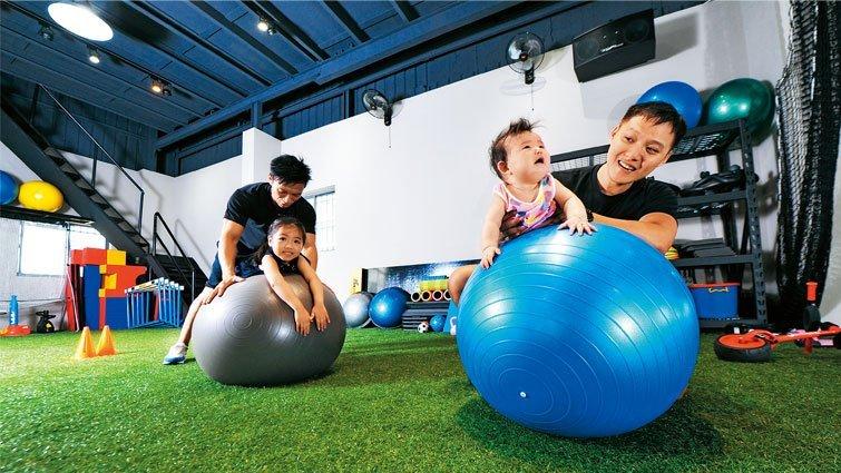 郭泓志的「郭式風格」幼兒健身房