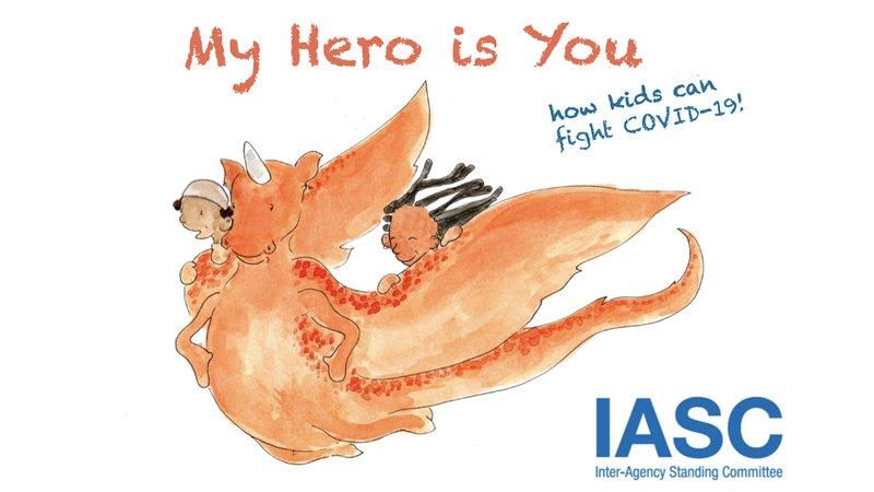 親師生共讀推薦:聯合國組織推暖心繪本 ,用抗疫故事和孩子談疫情