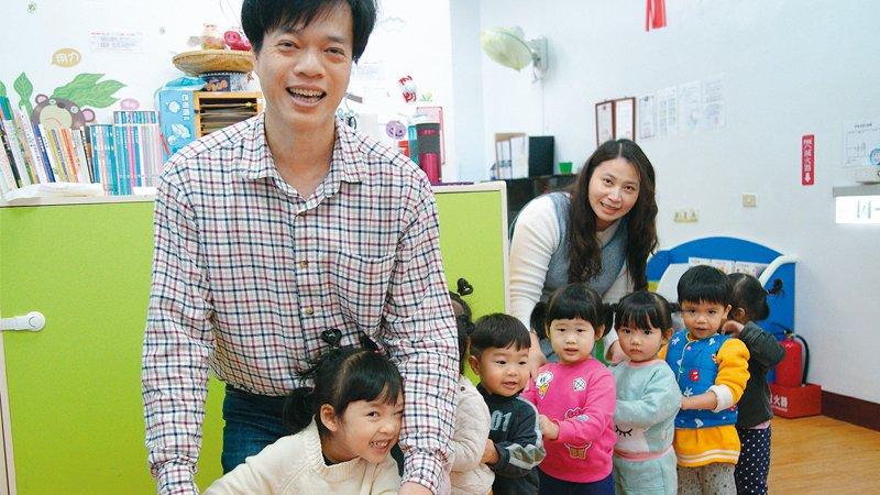 新竹市微笑天空托嬰中心 竹科夫妻轉職創業,孩子當自己的在照顧