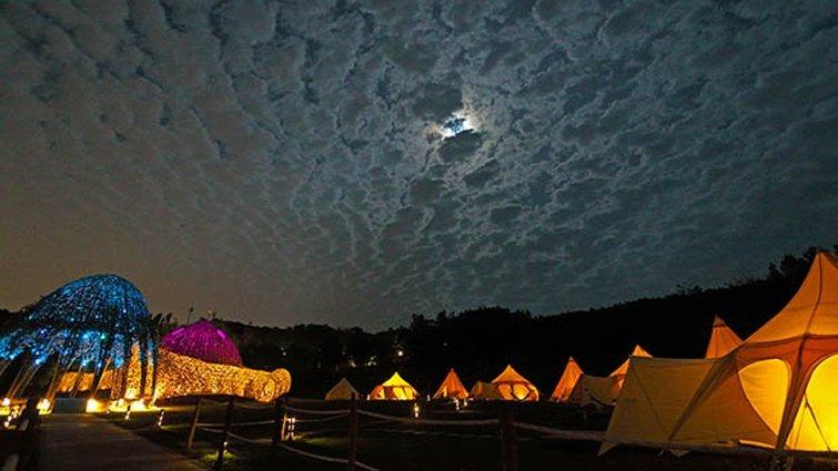 豪華露營 比在家更舒適